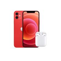 Apple 苹果 iPhone 12 5G智能手机+ AirPods H1 2代套装 128GB 红色
