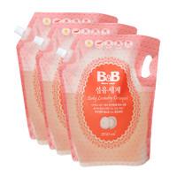B&B 保宁 婴幼儿洗衣液补充装 清香型 2100ml*3袋