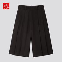 UNIQLO 优衣库 424178  女装粗花呢裙裤