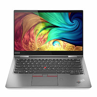 ThinkPad 思考本 联想ThinkPad X1 Yoga 2020(00CD)14英寸翻转触控笔记本电脑(i7-10510U 16G 512GSSD WQHD)水雾灰