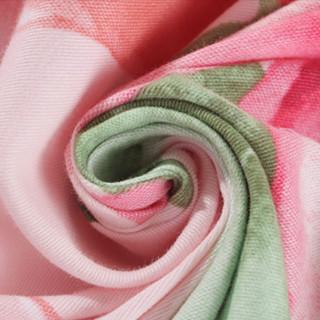 MERCURY 水星家纺 全棉磨毛四件套 爱在西西里 1.8m床