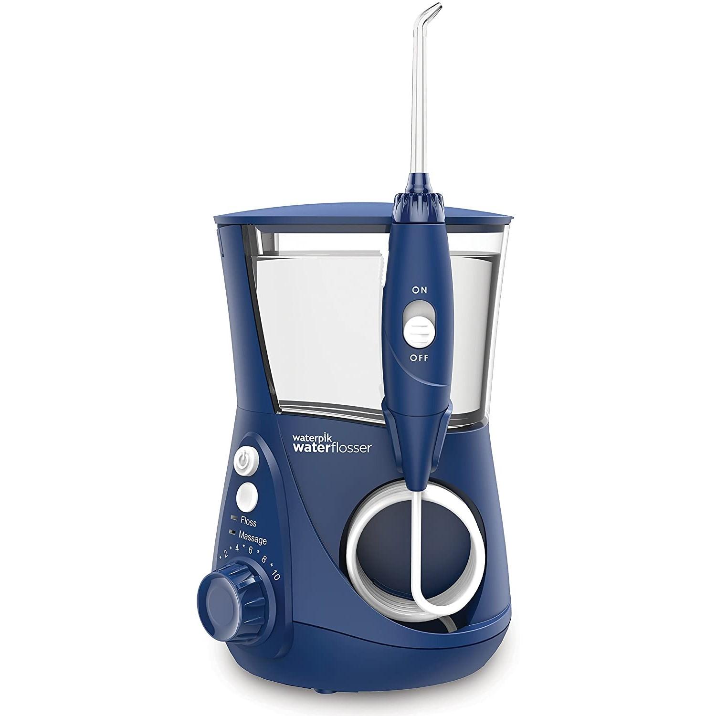 waterpik 洁碧 水瓶座系列 WP-663UK 电动冲牙器 蓝色 海外版