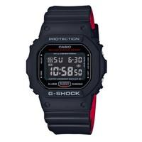 超值黑五、考拉海购黑卡会员:CASIO 卡西欧 G-SHOCK系列 DW-5600HR-1PR 男士石英手表