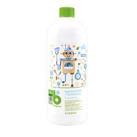 BabyGanics 甘尼克宝贝 Babyganics 婴儿天然碗碟奶瓶泡沫清洗剂,无香,32盎司,946毫升,2瓶,包装可能会有所不同