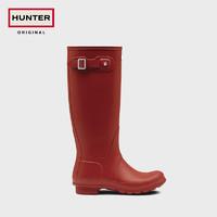 Hunter2020秋冬新款女高筒靴英国经典惠灵顿防水防滑通勤雨鞋雨靴