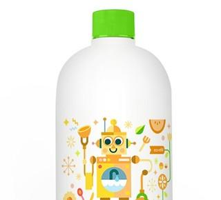 BabyGanics 甘尼克宝贝 宝宝奶瓶餐具清洁剂 柑橘香 946ml