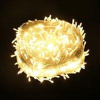 耀庆 LED小串灯 暖白 5米 20灯 常亮插电款
