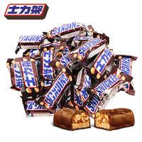 百亿补贴:SNICKERS 士力架 花生夹心巧克力 600g