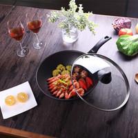 BALLARINI 巴拉利尼 米兰钛金黑 中式炒锅 30cm