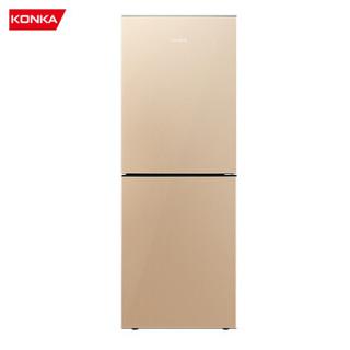 KONKA 康佳 BCD-178WEGX2S 两门冰箱 178L