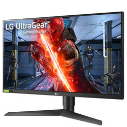 LG 27GN750 27英寸 IPS显示器(1920×1080、240Hz、1ms、G-Sync、HDR10)