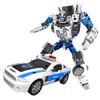 贝利雅 合金变形消防车模型城市保卫者五合一玩具变形仿真警车