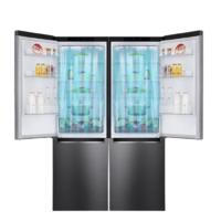 LG 乐金 M450S1+M450S1 嵌入式 十字对开门冰箱 680升