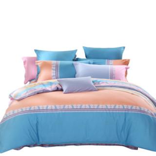 MERCURY 水星家纺 纯棉床上四件套 斯克诺 1.8m床