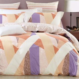 MERCURY 水星家纺 简约北欧风纯棉床上四件套 格维斯 1.8m床