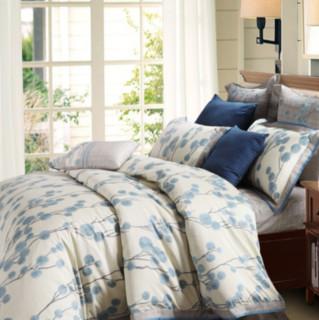 MERCURY 水星家纺 纯棉床上四件套 蓝莓时光 1.5m床