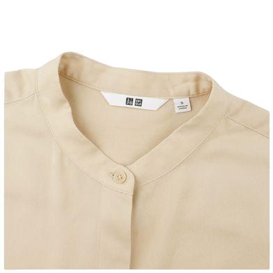 UNIQLO 优衣库 429415 女装花式立领衬衫