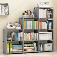 书架简易桌上置物架学生儿童桌面书柜家用经济型拆装收纳架书架子