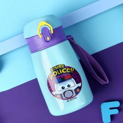 超级飞侠真空双层创意可爱便携卡通儿童316不锈钢弹跳直饮保温杯