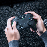 Razer雷蛇幻影战狼V2兼容PC电脑电视游戏XBOX专用有线机械手柄