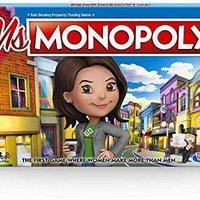 中亚Prime会员:Hasbro 孩之宝 Ms. Monopoly 地产大亨