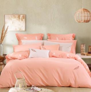 MERCURY 水星家纺 纯棉单人床三件套 羽点 1.2m单人床