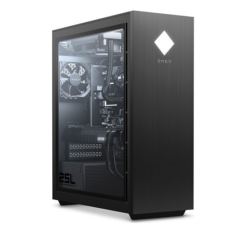 HP 惠普 暗影精灵6 台式机 灰色(酷睿i7-10700K、RTX 3080 10G、64GB、512GB SSD+1TB HDD)