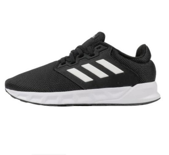 adidas 阿迪达斯 SHOWTHEWAY 女士跑鞋 FX3623 黑/白 38