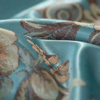MERCURY 水星家纺 欧式大提花四件套 蓝调庄园 1.8m床