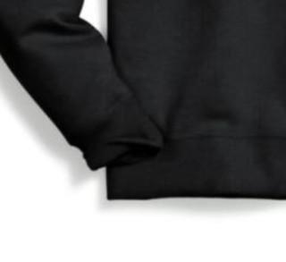 Champion 男士圆领套头长袖卫衣GF88H-Y07974 黑色M