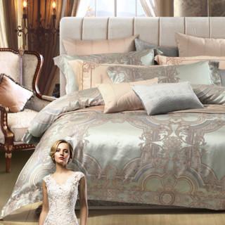 MERCURY 水星家纺 欧式大提花四件套 圣马可之约 1.5m床