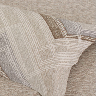 MERCURY 水星家纺 全棉磨毛四件套 左右格调 1.8m床