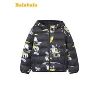 Balabala 巴拉巴拉 儿童轻薄羽绒服 米奇IP款