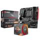 AMD R5 3600 CPU处理器 + msi 微星 B450M MORTAR MAX 迫击炮 板U套装 1599元包邮(需用券,晒单返50元E卡)