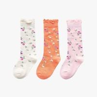 馨颂 儿童中筒毛圈棉袜 3双装