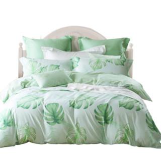 MERCURY 水星家纺 纯棉床品四件套 丛林夏梦 1.8m双人床