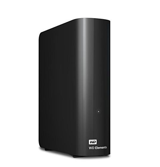 Western Digital 西部数据 Elements 便携式外置硬盘 6TB