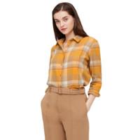 UNIQLO 优衣库 432614 女士法兰绒格子衬衫