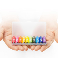 MI 小米 5号/7号碱性彩虹电池 10粒