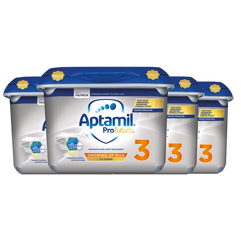 京东PLUS会员 : Aptamil 爱他美 英国爱 白金版 幼儿配方奶粉 3段 800g