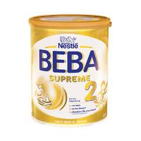BEBA 雀巢 至尊版 婴幼儿配方奶粉 2段 800g*3罐(6个月以上)德国版