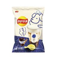 Lay's 乐事 薯片组合装 65g*8袋(烤布蕾奶茶味+咖啡冻乌龙奶茶味)