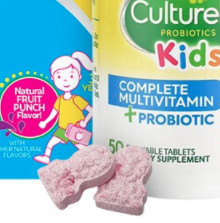 Culturelle 儿童益生菌咀嚼片 莓果味 50粒