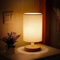 创意温馨LED布艺装饰灯 麻黄灯罩+固定亮度