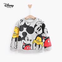 Disney 迪士尼 卡通不倒绒圆领卫衣 *2件