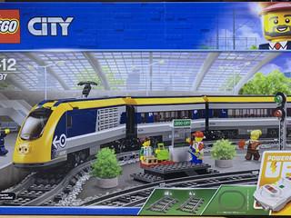 乐高60197城市火车套装