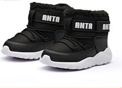 ANTA 安踏 儿童加绒雪地靴