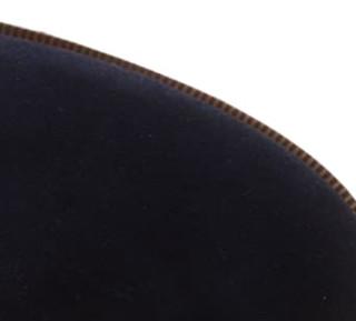 Clarks 其乐 Taylor Shine系列女士复古英伦切尔西绒面短靴261128604 深蓝色39.5