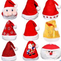 爱新奇 圣诞节成人圣诞帽