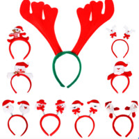 爱新奇 圣诞节儿童装饰发箍